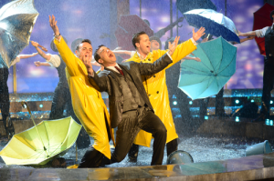 Rain Effects For ITV TV Show
