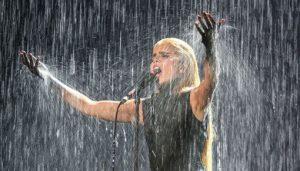 Rain special effects for Paloma Faith Brit Awards Performance