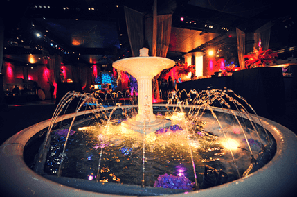 Indoor Fountain at Event