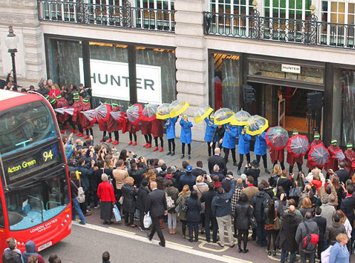 Hunter Shop Opening – Regent Street