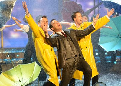 Rain Effect for Robbie Williams Singing In The Rain