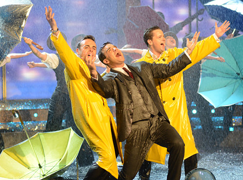 ITV's Saturday Night Takeaway – Singing In The Rain