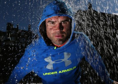 Rain Effect for Under Armour Product Launch