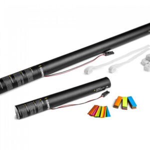 Small and large handheld electric confetti cannons
