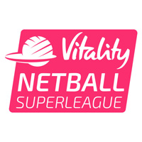 vitality netball super league logo