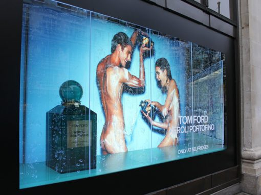 Tom Ford – Selfridges Shop Window
