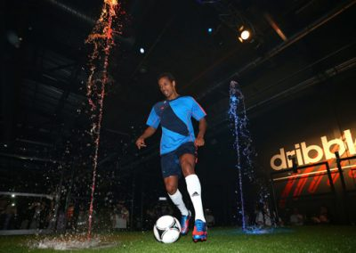 Water Jets – Adidas Predator Launch