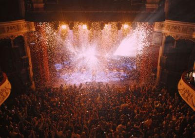 Sparkular and Confetti for Lewis Capaldi Gig – Shepherds Bush Empire