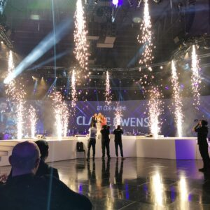 Sparkular fall effects at BT CEO Awards