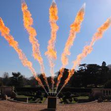 5-way flame machine firing