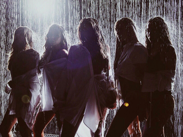 Rain effects used for Little Mix video